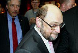 Von Beginn an kein leichter Gang. Martin Schulz am 26. Februar 2017 in Leipzig. Foto: L-IZ.de