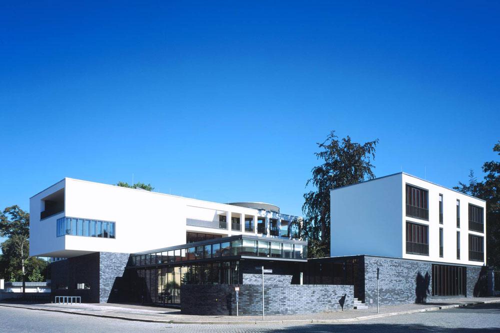 Mediencampus Villa Ida. Foto: Andreas Lamm