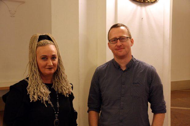 Norman Volger (Grüne) und Irena Rudolph-Kokot (SPD). Foto: L-IZ.de