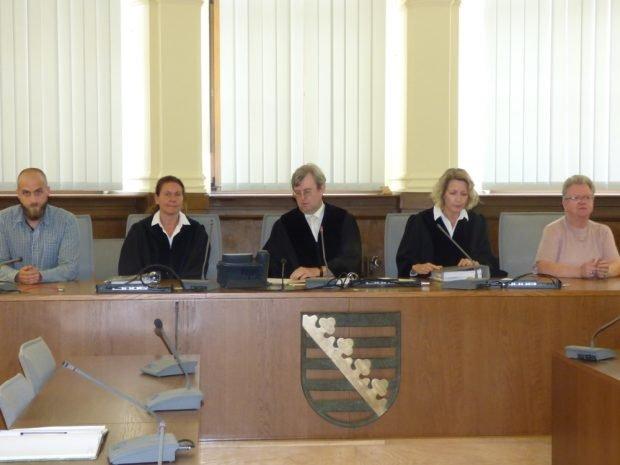Die 1. Strafkammer verhängte das härteste, mögliche Urteil. Foto: Lucas Böhme