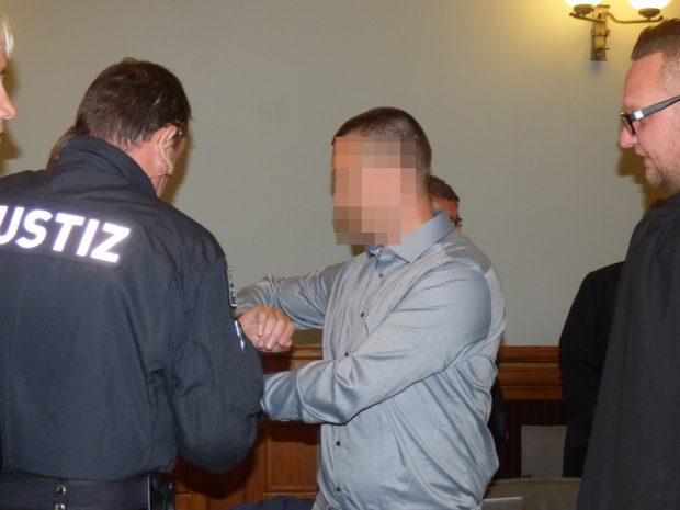 Der Angeklagte Ferenc B. (40). Foto: Lucas Böhme