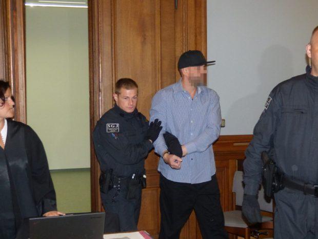 Der Angeklagte Frank M. (46). Foto: Lucas Böhme