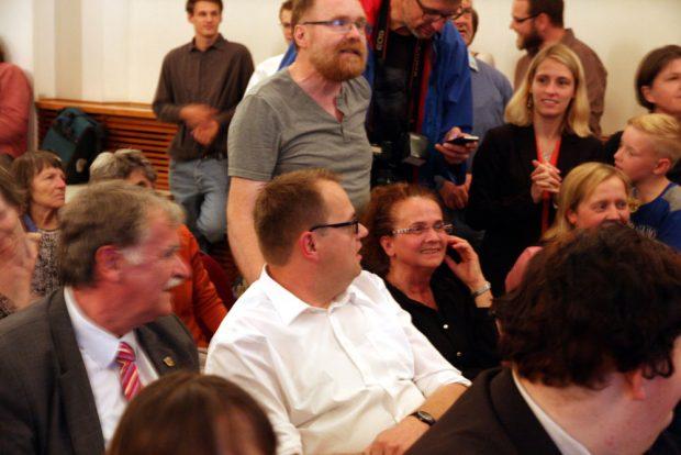 Blick auf das Kopf-an-Kopf-Rennen mit Thomas Feist (CDU). Foto: L-IZ.de