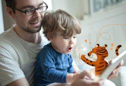 Mit TigerBooks völlig neue Leseabenteuer erleben. Foto: Leipziger Städtische Bibliotheken