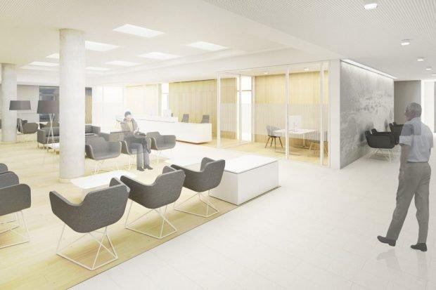 Mit der Fertigstellung des neuen Klinikzentrums Haus 7 wird auch das Krebszentrum neue, großzügige Räume erhalten. Foto: UKL