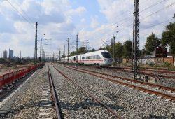 Bauarbeiten am Bahnknoten Leipzig. Foto: Deutsche Bahn