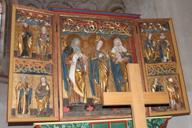 Altar in der Kunigundenkirche. Foto: Stadtverwaltung Borna