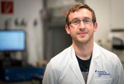 Dr. Benjamin Korth. Foto: UFZ/Sebastian Wiedling