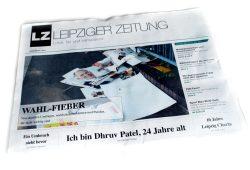 Leipziger Zeitung Nr. 47: Wahl-Fieber. Foto: L-IZ