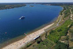 Der Markkleeberger See. Foto: EGW