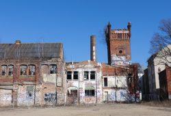 Alte Fabrikanlage in der Markranstädter Straße. Foto: Marko Hofmann