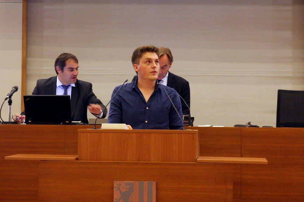 Jugendparlamentssprecher William Rambow. Foto: LZ