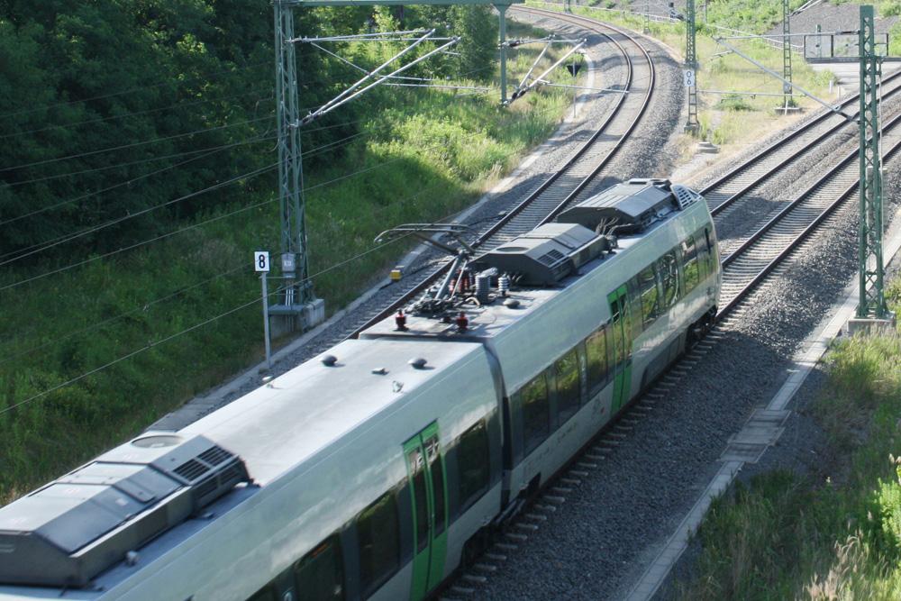 S-Bahn in Connewitz. Foto: Ralf Julke