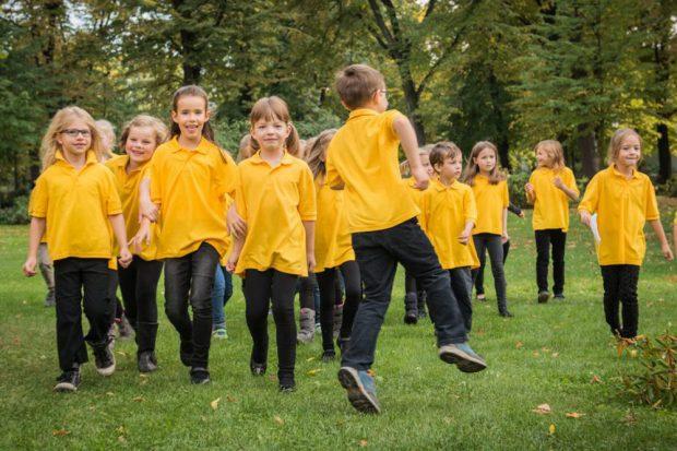 Spatzenchöre begrüßen musikalisch den Herbst. Foto: Schola Cantorum