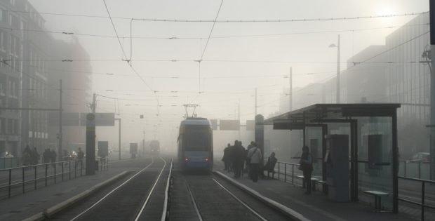 Frühmorgens in Leipzig. Foto: Ralf Julke