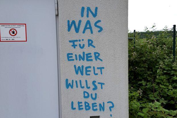 Die entscheidende Frage. Foto: Marko Hofmann