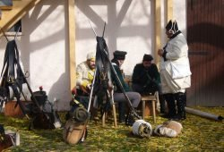 Einquartierung auf den Gehöften. Foto: Liebertwolkwitz 1813