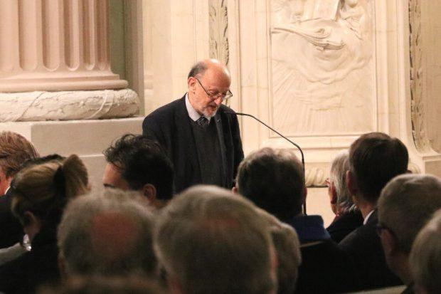 Eine weitblickende Demokratieredevon Adam Krzeminski in der Nikolaikirche. Foto: L-IZ.de