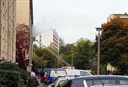 Explosion am Barclayweg in Leipzig Meusdorf. Foto: Privat