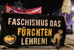 Halloween von links: Den Faschismus das Fürchten lehren. Foto: L-IZ.de
