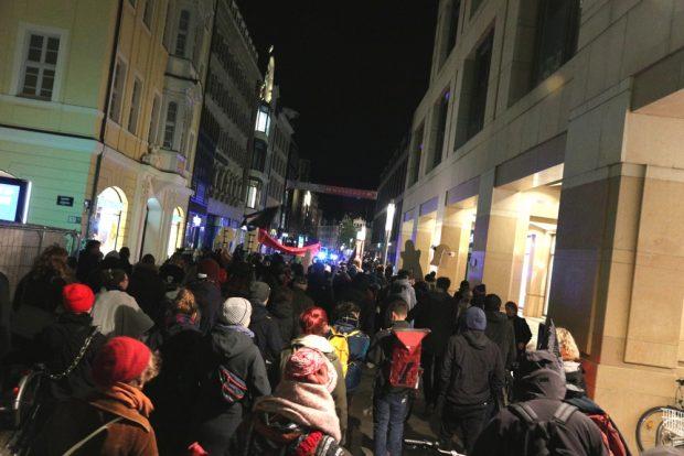 Geisteraustreibung in der Innenstadt. Foto: L-IZ.de