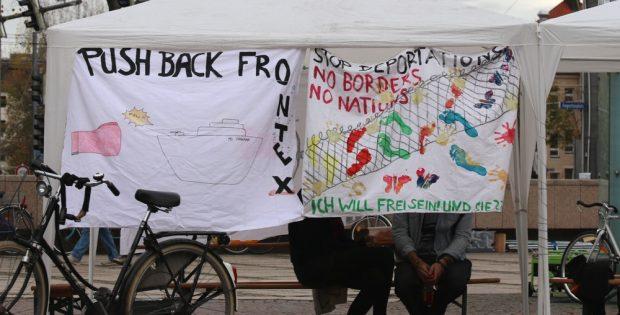 """Vom Protestcamp zu Lösungen? Ein Interview mit Alireza Alizadeh von von der Initiative """"Zendegi"""". Foto: L-IZ.de"""