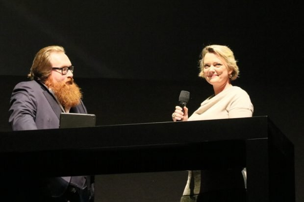 Juliane von Reppert-Bismarck hat sich ganz dem Kampf gegen FakeNews schon bei Kindern verschrieben. Foto: L-IZ.de