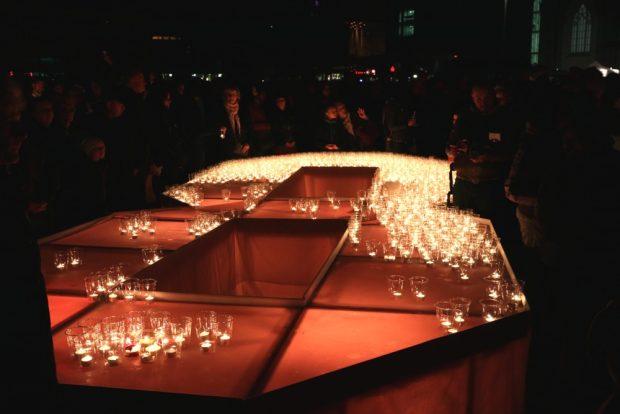 Und noch eine 89 - für die Kerzen. Foto: L-IZ.de