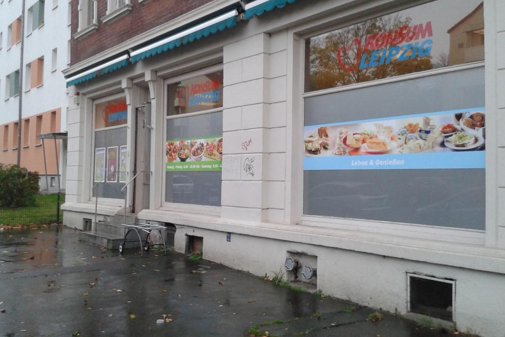 Die Konsumfiliale in der Brandstraße. Foto: René Loch