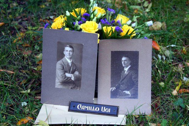 Historische Portraits des wahrscheinlich größten Fußballers Leipzigs: Camillo Ugi. Foto: Jan Kaefer