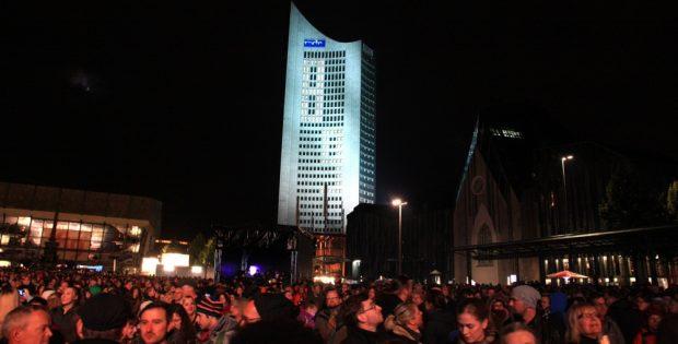 Lichtfest 2016. In diesem Jahr ohne Leo. Foto: L-IZ.de