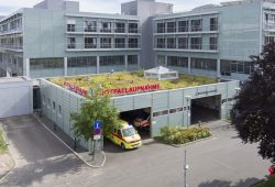 Die Zentrale Notfallaufnahme (ZNA) des Universitätsklinikums Leipzig. Foto: Stefan Straube/UKL