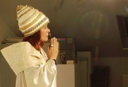 Päpstin Sibylle Kuhne. Foto: Kerstin Becker