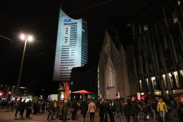 Da ist sie wieder - die 89. Hurra! Foto: L-IZ.de