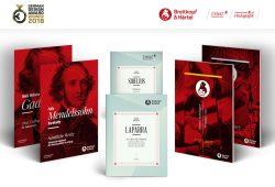 Neue Gestaltungslinie für Breitkopf & Härtel – den ältesten Musikverlag der Welt. © RAUM ZWEI
