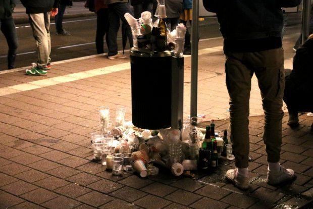 Was vom Lichtfest blieb. Foto: L-IZ.de