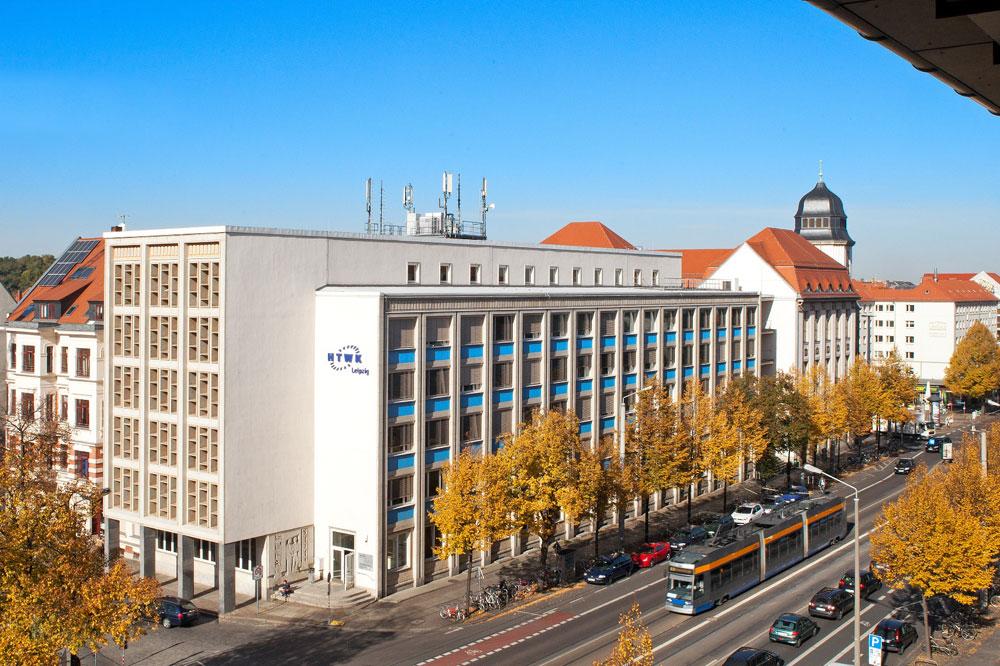 Der Geutebrück der HTWK Leipzig. Foto: Swen Reichhold/HTWK Leipzig