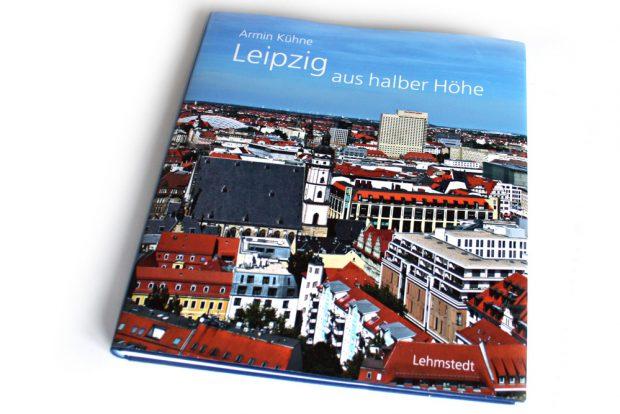Armin Kühne: Leipzig aus halber Höhe. Foto: Ralf Julke