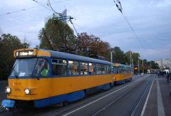 Bewährter Lastesel: Tatra-Straßenbahn. Foto: Ralf Julke