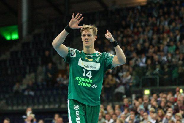 Als hätte es Niclas Pieczkowski geahnt: Niederlage mit 6 Toren Differenz. Foto: Jan Kaefer