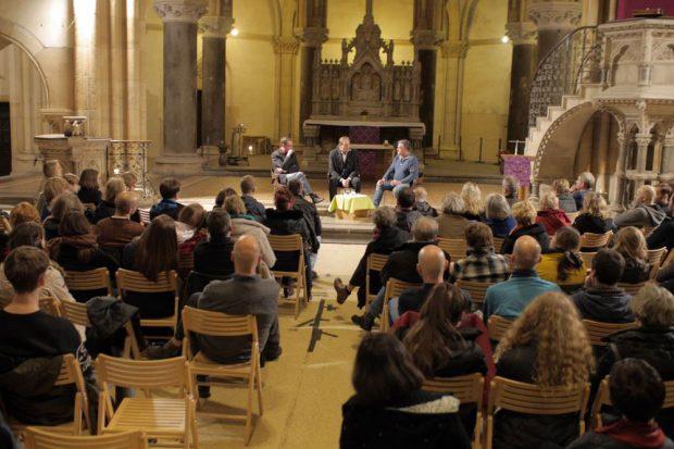 Foto: Uwe Willmann, AG Demokratie, Initiative des Evangelischen Schulzentrums