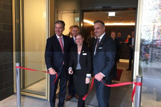 Erstes Adina Apartment Hotel in Leipzig feierlich eingeweiht. Foto: Adina Apartment Hotels Europe