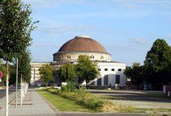 """Der Eventpalast auf der """"Alten Messe"""" in Leipzig. Foto (Archiv) L-IZ.de"""