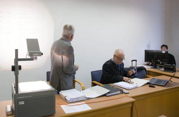 Rund sechs Stunden referierte der einzig verbliebene Angeklagte Jörg S. am 1. November im Landgericht Leipzig. Foto Michael Billig, muellrausch.de