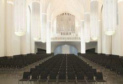Paulinum der Universität Leipzig mit Blick auf die Jehmlich-Orgel. Foto: Marion Wenzel /Universität Leipzig