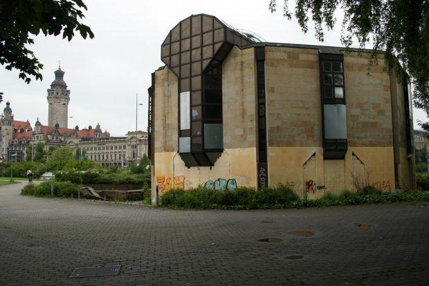 Der ehemalige Bowling-Treff am Wilhelm-Leuschner-Platz. Foto: Ralf Julke