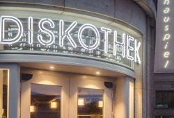 """Die neue Zweitspielstätte """"Diskothek"""". Foto: Luca Kunze"""