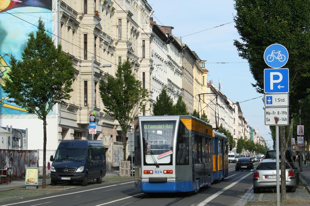 Die Eisenbahnstraße im Leipziger Osten. Foto: Ralf Julke