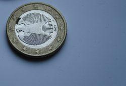 Man kann einen Euro nur ein Mal bunkern. Foto: Ralf Julke