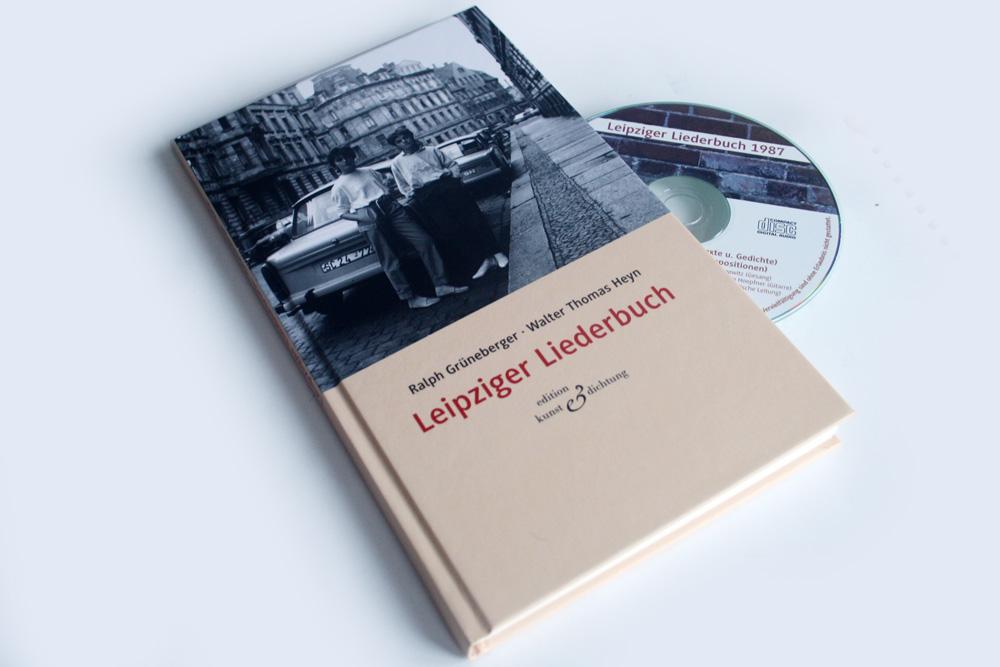Ralph Grüneberger, Walter Thomas Heyn: Leipziger Liederbuch. Foto: Ralf Julke